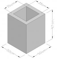 Cement Blocks Solid Fair Face 7NT (CYS EN 771-3:2003)