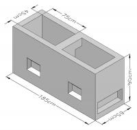 Splitting Blocks A Type (CYS EN 771-3:2003) Corner