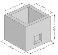 Pyramid Wall Cap