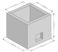 Trapezium Wall Cap