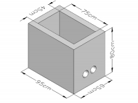 Cement Blocks Fair Face 7NT (CYS EN 771-3:2003)